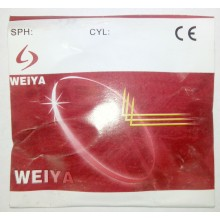 Линзы минеральные фотохромные стекло Weiya