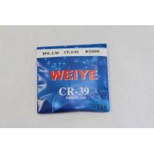 Линзы пластиковые CR 1.5 WEIYE